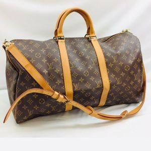 ✈️🥰 Louis Vuitton Bandoulier 45 Travel Bag
